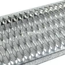 Anti Slip Metal Expanded Wire Mesh Fence Stainless Steel Anti Skid Plate