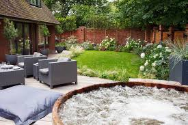 garden hot tubs outdoor jacuzzis in