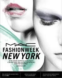 mac cosmetics fashion week new york
