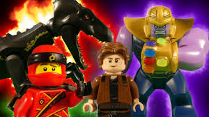LEGO MEGA MIX COMPILATION - JURASSIC WORLD - AVENGERS INFINITY WAR ...
