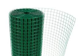 Hygrad 1 X 1 Green Pvc Coated Welded Mesh Wire 30m Or 45m Roll In 2 Widths Chicken Rabbit Animal Fence Steel Metal Garden Netting Fencing 0 9m X 30m Animal Shop