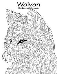 Wolven Kleurboek Voor Volwassenen 1 Nick Snels 9781537045153