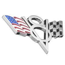 Metal V8 Usa American Flag Car Emblem Badge Sticker Decal For Ford Chevrolet Pr Archives Statelegals Staradvertiser Com