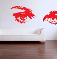 Sexy Eyes Wall Decal Mukti Marketing