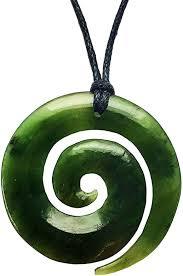 jade greenstone pounamu koru