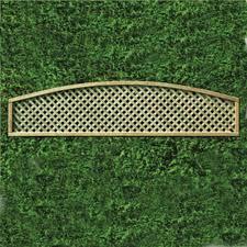Privacy Arch Trellis Panel 30cm X 183cm Bowed Top Wooden Supplies Wooden Supplies