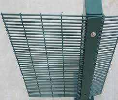 High Security Anti Climb 358 Mesh Panels Posts And Razor Wire Tops