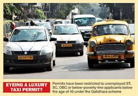 Permit squeeze on app cabs - Telegraph India
