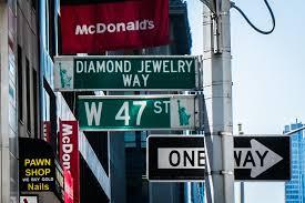new york s diamond district michael