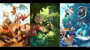 Pokemon Starters Wallpaper (74+ images)
