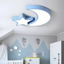 Mega Discount 1edd Led Moon Star Roof Light Kids Bedroom Ceiling Light Child Room Ceiling Lamp Baby Room Ceiling Led Light Sleeping Room Light 110v Cicig Co