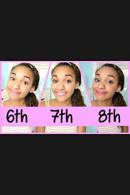 6th 7th and 8th grade makeup middle