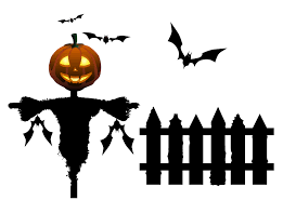 Halloween White Background 877 593 Transprent Png Free Download Silhouette Logo Black And White Cleanpng Kisspng