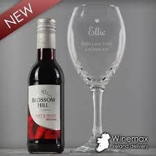 personalised gl mini wine gift set