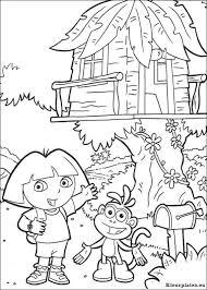 Dora De Verkenner 2 Kleurplaat 929592 Kleurplaat
