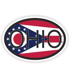14 5cm 9 7cm Funny Ohio State Country Code Car Sticker Helmet Decal 6 1586 Car Stickers Aliexpress