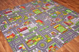 road map rug play rug road rug area
