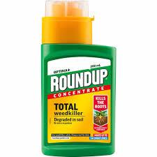 Roundup Concentrate Weedkiller Liquid 280ml Wilko