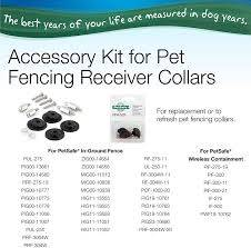 Amazon Com Petsafe Replacement Collar Accessories For Pet Fencing Receiver Collars Pet Supplies