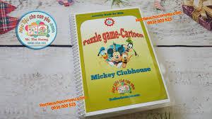 Puzzle game - Mickey Mouse - Bộ dán hình nhân vật phim chuột ...