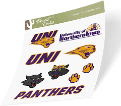 Northern Iowa Panthers Ncaa Decal Sticker Car Truck Window Bumper Laptop