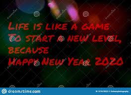 landscape of happy new year stock illustration illustration