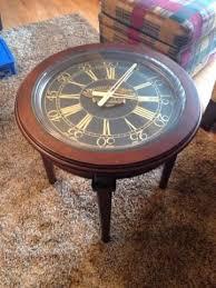 harley davidson 2004 coffee table clock