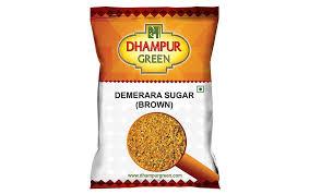 dhur green demerara sugar brown