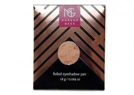 makeup geek foiled eyeshadows review