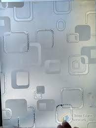 acid etched glass frosted glass