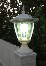 Solar Deck Post Cap Lights With Carriage Lanterns Wood Vinyl Posts Deck Posts Deck Post Caps Fence Post Caps
