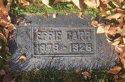 Effie Flatt Carr (1879-1928) - Find A Grave Memorial