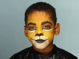 kid s makeup tutorial lion
