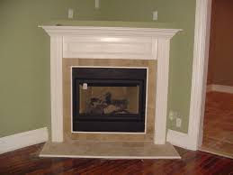 fireplace tile with wood trim avalon