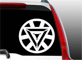 Iron Man Arc Reactor Avengers Decal Superhero Sticker Etsy