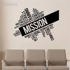 Vinyl Wall Decal Sticker Motivation Quote Leadership Words Cloud Teamwork Success Stickers Home Decor Art Mural Jg4059 Wall Stickers Aliexpress