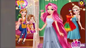 disney queen frozen elsa makeup games