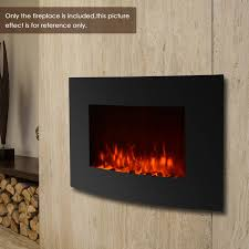 wall mount fireplace 3d flame heater