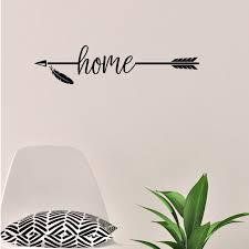 Home Arrow Vinyl Wall Decal Home Decor Walmart Com Walmart Com