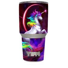 Skin Decal For Yeti 30 Oz Rambler Tumbler Unicorn Rainbows Space Walmart Com Walmart Com