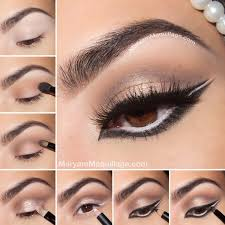 step by step makeup tutorials all for