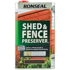Ronseal Shed Amp Fence Preserver Waterproof Wood Preserver