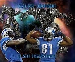 calvin johnson i am megatron detroit