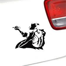 Elvis With Mic Laptop Car Auto Door Motorbike Vinyl Sticker Graphic Decal Decor
