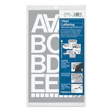 Chartpak Vinyl Letters Blick Art Materials