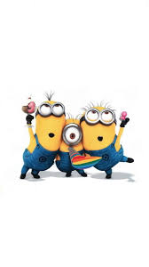 funny minions party iphone 6 wallpaper