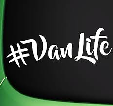 Vanlife Van Life Funny Car Sticker Decal Window Van Jdm Vinyl Ebay