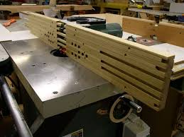 Shop Built Adjustable Shaper Fence