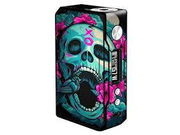 Skin Decal Vinyl Wrap For Voopoo Drag 157w Tc Resin Reg Vape Mod Stickers Skins Cover Skull Dia De Los Muertos Design Bird Newegg Com