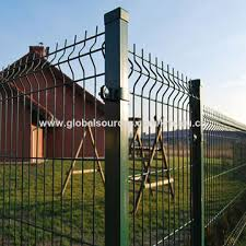 China3d Curved Wire Mesh Fencing Panel Welded Garden Fence Panels Security Heavy Gauge Coated Fencing On Global Sources